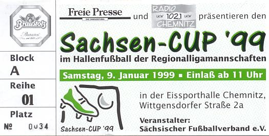 Sachsencup '99